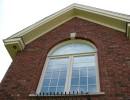 Arche de fenêtre en brique