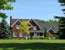 Maison style traditionnel en briques